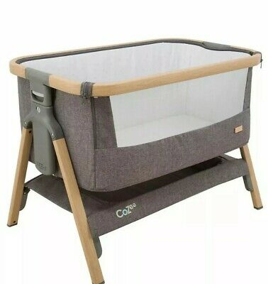 Tutti Bambini CoZee® bedside crib - charcoal never used gift still in box