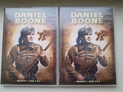 "DVD ""Daniel Boone"" Complete Seasons 1, 2 and 3"