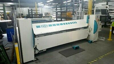 FASTI Model 221 Folding Machine Brake Sheet Metal Bender