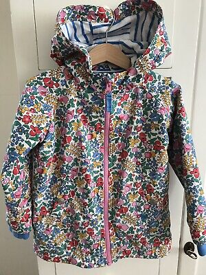 Girls Mini Boden, Jersey Lined Anorak. Age 2-3 (3-4) Yrs .  Fabulous Condition.