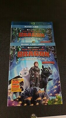 How to Train Your Dragon the Hidden World Blu-ray + DVD