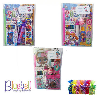 Pre Filled LOL Surprise Paw Patrol Children's Birthday Party Bags Fillers Pack