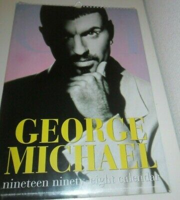 George Michael WHAM! Calendar Kalender Calendario Calendrier 1998 Photo Photos