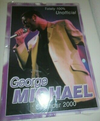 George Michael WHAM! Calendar Kalender Calendario Calendrier 2000 Photo Photos
