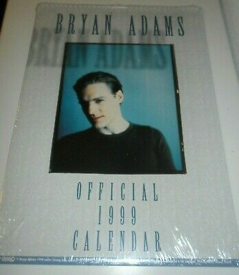 Bryan Adams 1999 Calendar Kalender Calendario Calendrier Photo Photos