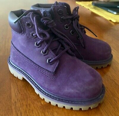 TODDLER GIRL PURPLE Boots, Size 7! $3.25 | PicClick