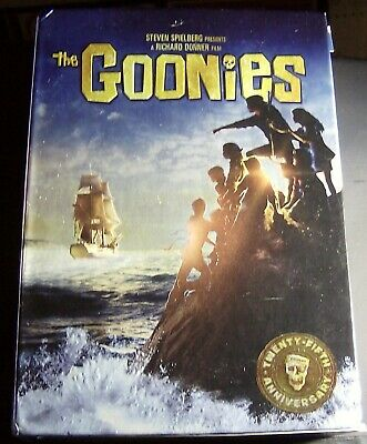 The Goonies (Blu-ray Disc, 2010, 25th Anniversary Collectors Edition With...