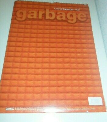 Garbage Calendar Kalender Calendario Calendrier 1999 Photo Photos Shirley Manson