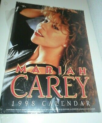 Mariah Carey Calendar Kalender Calendario Calendrier 1998 Photo Photos
