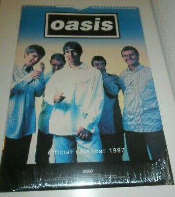 Oasis 1997 Calendar Kalender Calendario Calendrier Photos Noel Liam Gallagher
