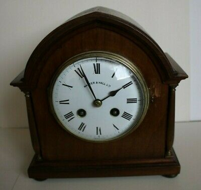 Walker And Hall Mantel Clock, Japy Movement.