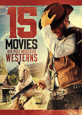 Westerns: 15 Movies DVD Yuma/Sitting Bull/Against A Crooked Sky/Vengeance Valley