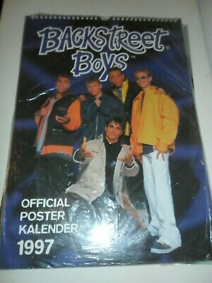 The Backstreet Boys 1997 Calendar Kalender Calendario Calendrier Photo Vintage