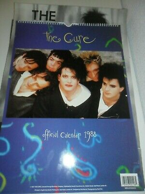 The Cure 1992 Poster Calendar Kalender Calendario Calendrier Photo Vintage