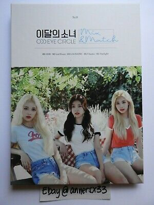 LOONA Odd Eye Circle Mix & Match Album (No Photocard)