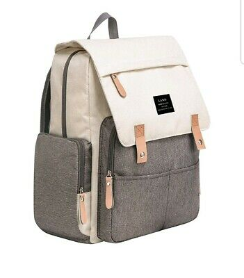 LAND Mommy Diaper Bag Backpack Large capacity baby Nappy changing Daddy bags