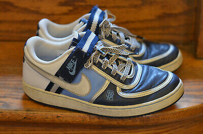 5fdc0acd3993d 2007 Nike Vandal Low Midnight Navy / - Blue White Texture University  312456-413