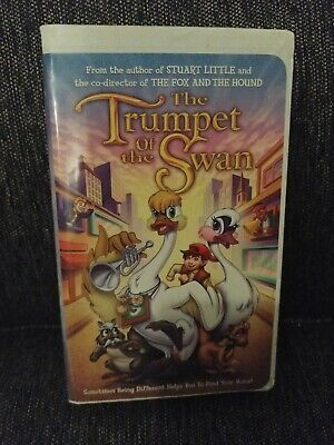 Trumpet of the Swan (VHS, 2001, Clamshell)