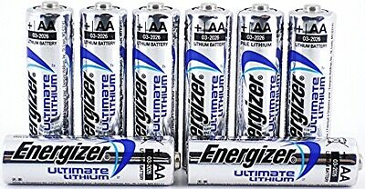 *SALE**EXPIRY 2038* NEW 8 x ENERGIZER ULTIMATE AA LITHIUM BATTERIES LR6 L91 1.5v