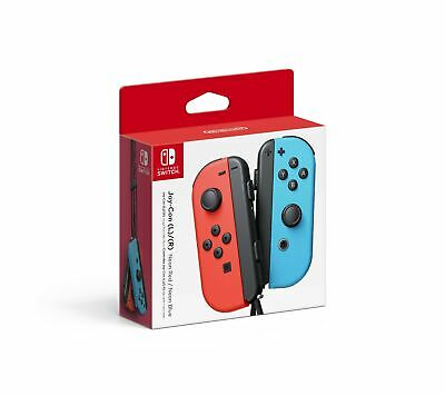 Nintendo Joy-Con (L/R) - Neon Red/Blue - Left and Right Edition