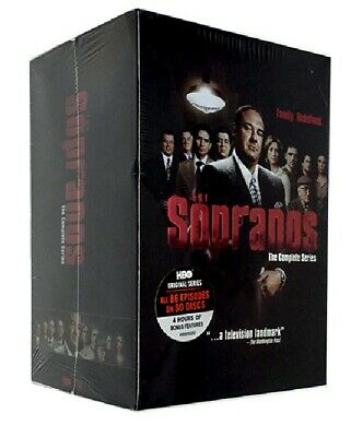 The Sopranos - The Complete Series (DVD, 2014, 30-Disc Set, Box Set) 1-6 Sealed