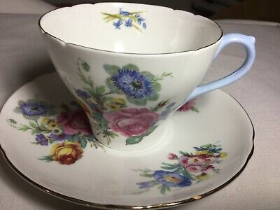 Shelley Bone China Cup And Saucer England