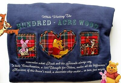 Vintage Disney Winnie the Pooh and Friends Pullover Sweater Unisex Xlarge