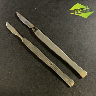 VINTAGE c.1930's L.SEGALL GERMANY FIXED BLADE SCALPEL + UNMARKED SCALPEL