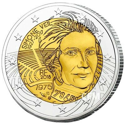 2 Euro commémorative France 2018