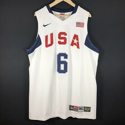 AUTHENTIC Lebron James Gr XL Trikot Basketball Jersey Dream Team Nike NBA Jordan