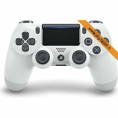 Dualshock 4 Joypad Controller Wireless V2 Bianco (DS4) - Playstation 4