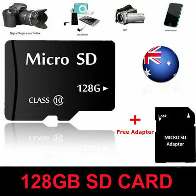 Micro SD Card 32GB 64GB128GB Extreme Pro TF SDHC SDXC Class10 Memory W/ Adapter