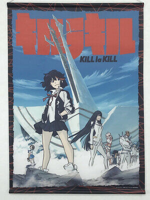 Kill la Kill Tapestry Wall Scroll Cospa Ryuko Matoi Satsuki Kiryuin etc.