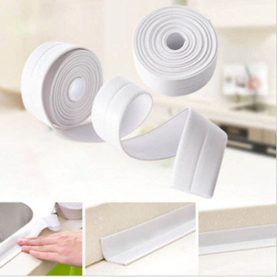Self Adhesive Sink Waterproof Tapes Sealant for Kitchen Bathroom Toilet White