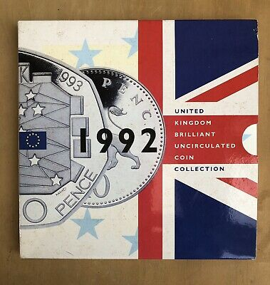 1992 Uk Brilliant Uncirculated Coin Collection