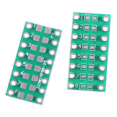10Pcs SMD/SMT components 0805 0603 0402 to DIP adapter PCB board converter 9H