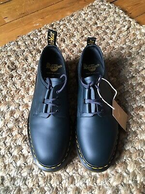 Dr Martens X Engineered Garments Vintage Ghillie Made In England Navy Size UK 7