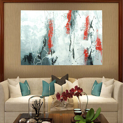 Rebirth Hand Painted Abstract Oil Painting Stretched Canvas Home Decor Framed