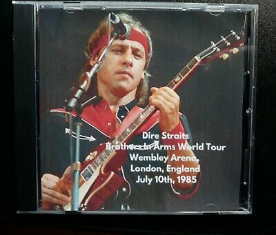 Dire Straits raro live 2 cd Wembley 85 London Brothers in Arms Knopfler