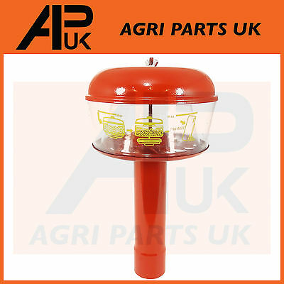 Air Pre Cleaner Filter Massey Ferguson 35,135,140,148 Hat Tractor Red C/W Pipe