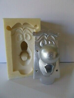 Silicone Rubber Mould Alice in Wonderland Door Knob Character Fix To Any Door