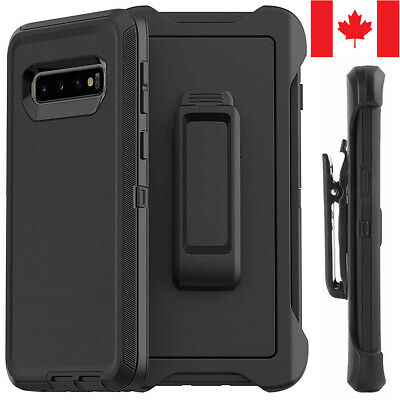 For Samsung S8 S9 S10 Plus S10e Defender Case Hybrid Cover | Fit Otterbox Clip
