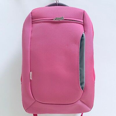"Job Lot of 10 x KINGSONS 15.6"" PINK Laptop Backpack (Rucksack/Bag/Case)"