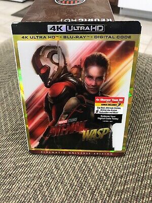 Ant-Man and the Wasp - 4K Ultra HD / Blu-Ray / Digital Copy/ Slipcover