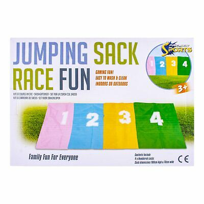 Ucradle Sports Day Kit 26 Piece Outdoor Game Set Include Sack Race Running Bag,
