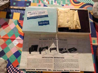 NOS AUTO SERV TISSUE DISPENSERS Original KLEENEX POCKET PACK Vintage Accessory