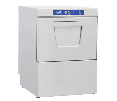 Ozti Commercial Undercounter Dishwasher Gravity Drain 50cm Basket 560 Plate/Hour