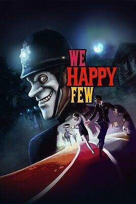 A4 A3 A2 A1 A0| We Happy Few Game Poster Print T1162