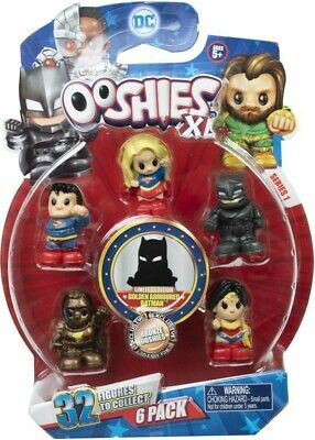 NEW DC Ooshies XL 6 Pack from Mr Toys