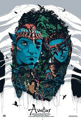 Avatar Fantasy/Science Movie Poster Print T975 |A4 A3 A2 A1 A0|